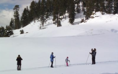Stress-free family skiing